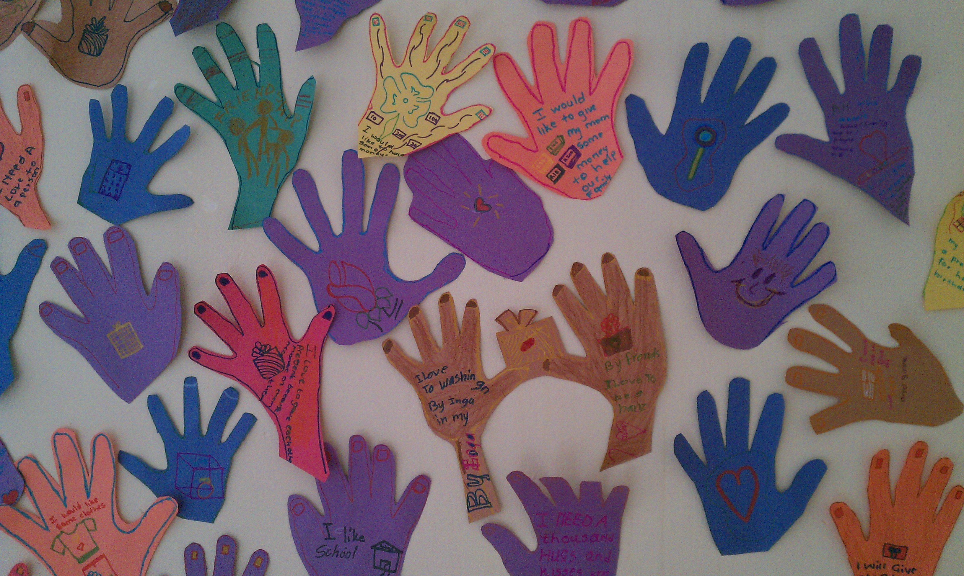 Art Therapy at the Bokamoso Life Center